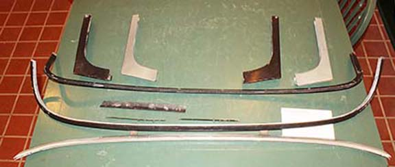 Photo of the TRS Windscreen parts