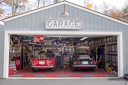 Photo of Mitchell Meisler's TR250, TR6 and garage