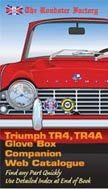 TR4, TR4A Glove Box Companion Catalogue