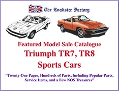 Graphic for TR7-TR8 Sale Catalog