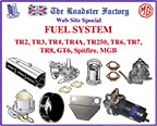 graphic for fuel systems on sale for Triumph and MGB
