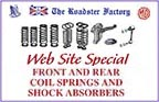 graphic for coil springs and shocks sale